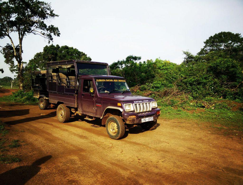 Unser eigener Jeep mit Fahrer im Yale Nationalpark - gestellt von Prebu